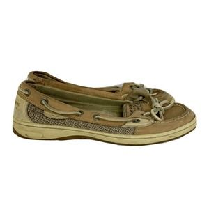 Sperry Angelfish Classic Tan Brown Loafers